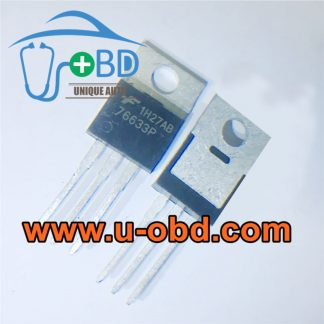 76633P BOSCH ECU commonly used transistors
