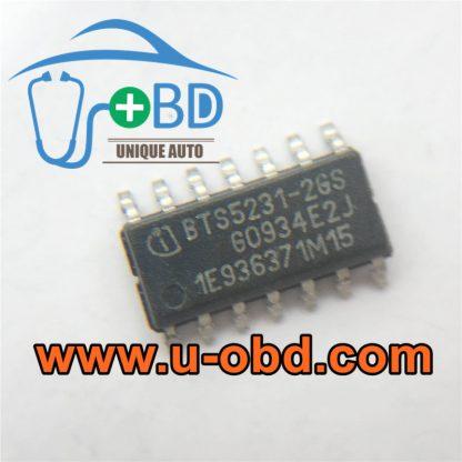 BTS5231-2GS BMW FRM module turn light driver chips
