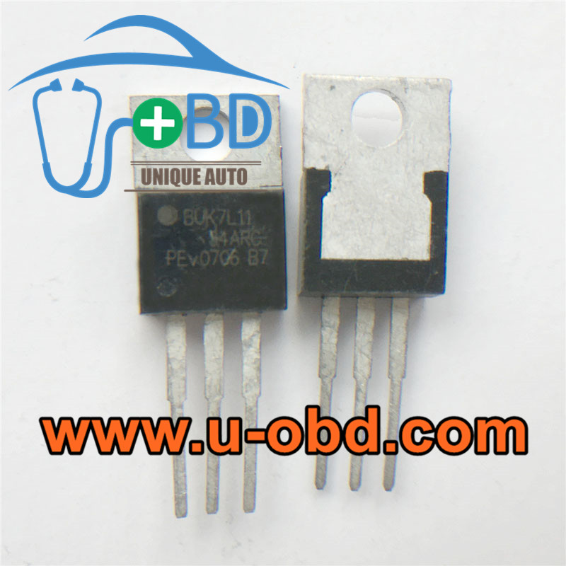 BUK7L11-34ARC Vulnerable transistors