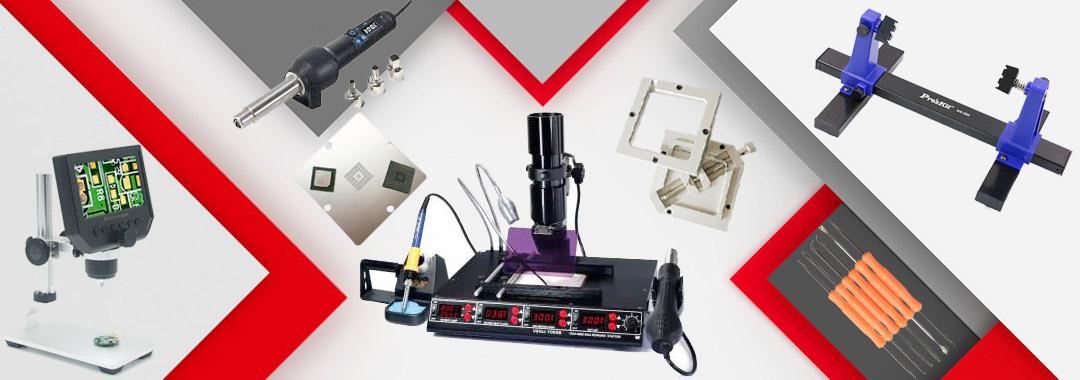 ECU repair tools BGA reballing tools soldering desoldering devices