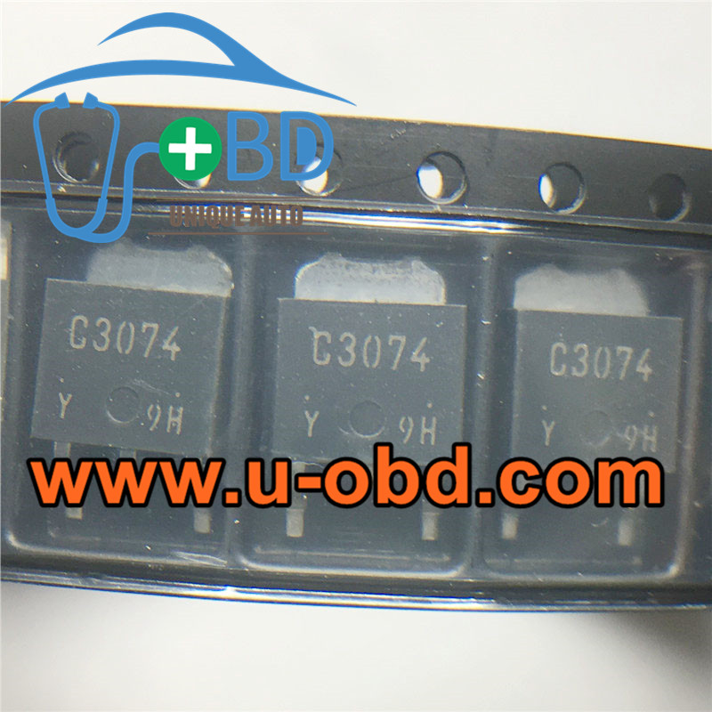 C3074 Widely used vulnerable automotive ECU transistors