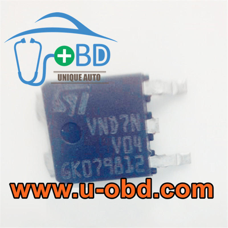 VND7NV04 Car ECU Commonly used vulnerable transistors