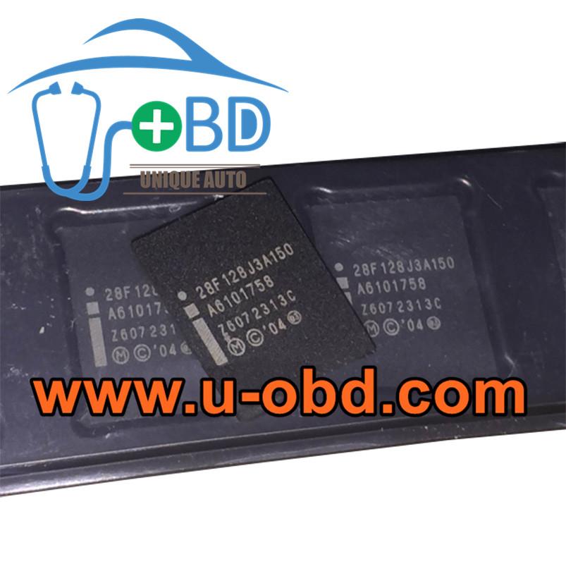 28F128J3A150 BMW Head unit vulnerable flash memory chips