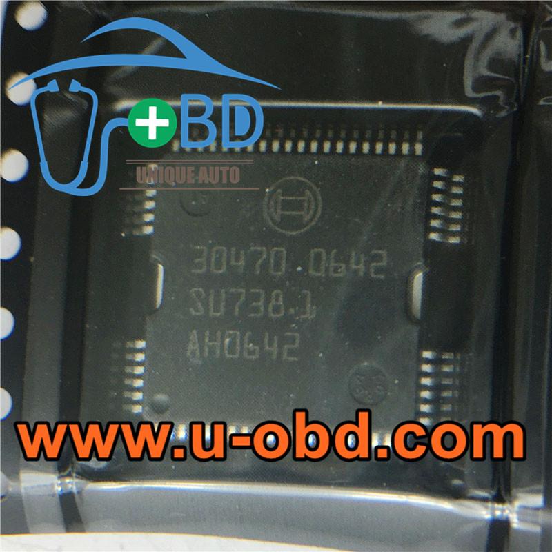 30470 BOSCH ECU vulnerable driver chips
