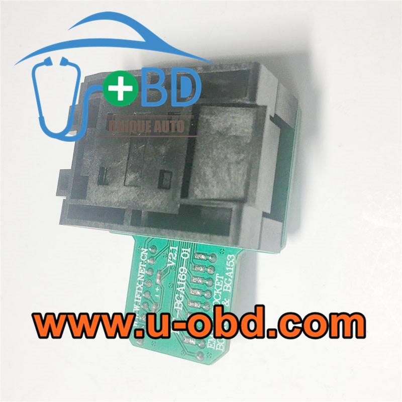 Car head unit BGA169 EMCP153 sockets