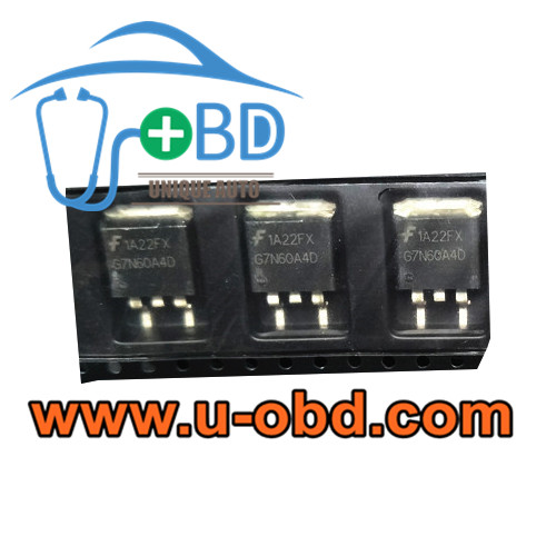 G7N60A4D BOSCH ECU vulnerable ignition driver chips Transistors