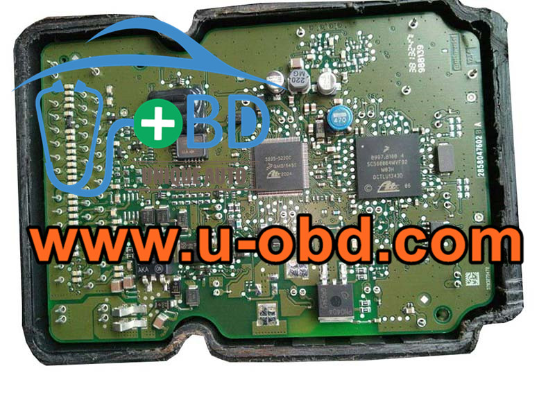 SC560004MVF92 ABS ECU commonly used chips