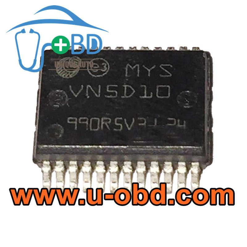 VN5D10 TOYOTA ABS ECU ABS Module Vulnerable chips