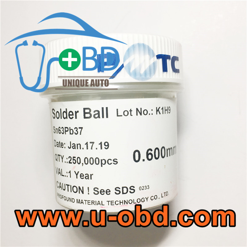 BGA chip Reballing solder ball with lead