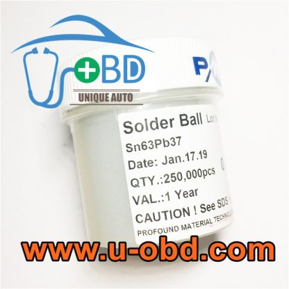 BGA chip Rework lead solder ball