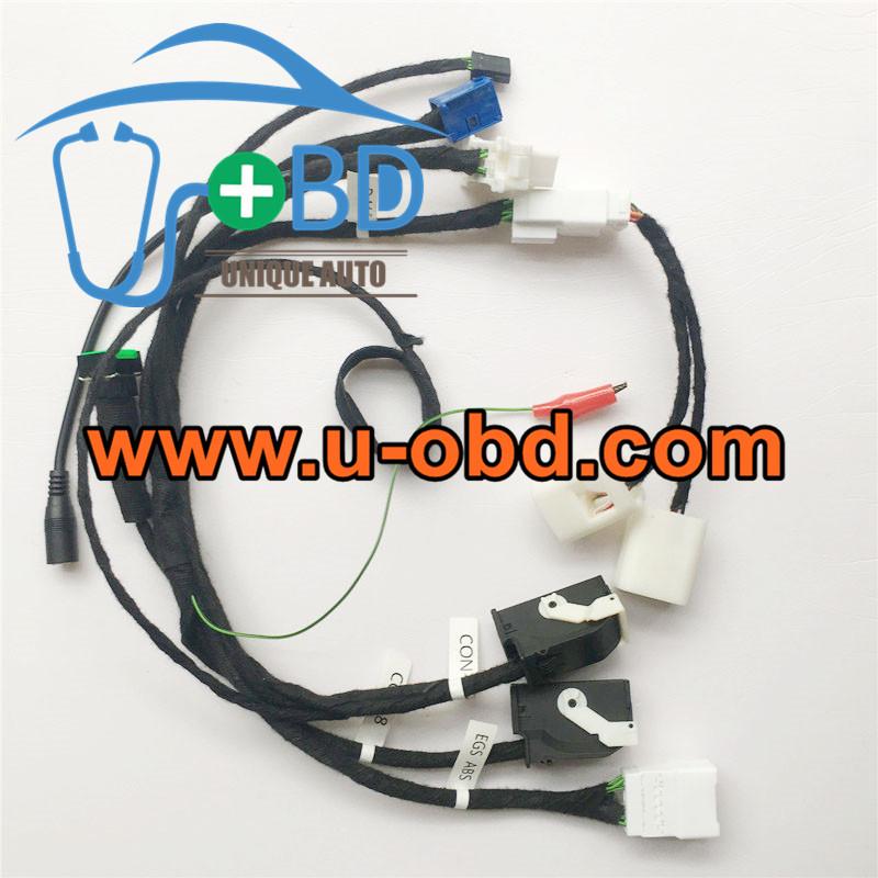 BMW B48 DME FEM BDC key programming harness test platform