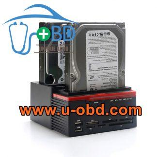 Car Navigation multimedia head unit HDD SSD clone device