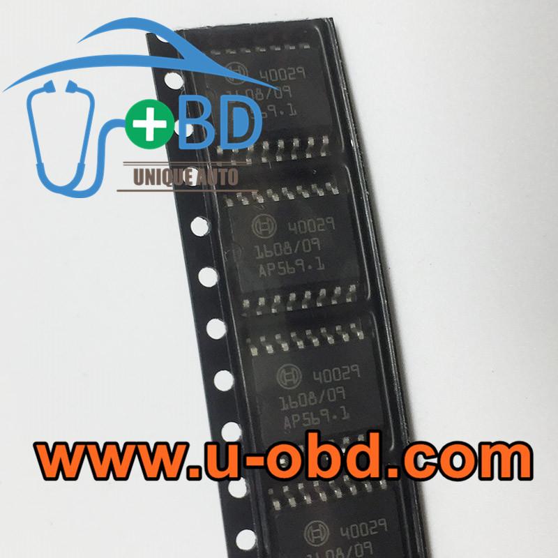 40029 BOSCH ECU vulnerable ignition chips