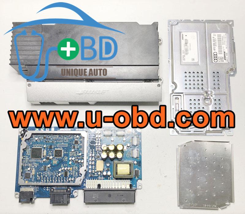 AUDI A6 Q7 2G 3G BOSE Audio amplifier module J525 Replacement circuit board