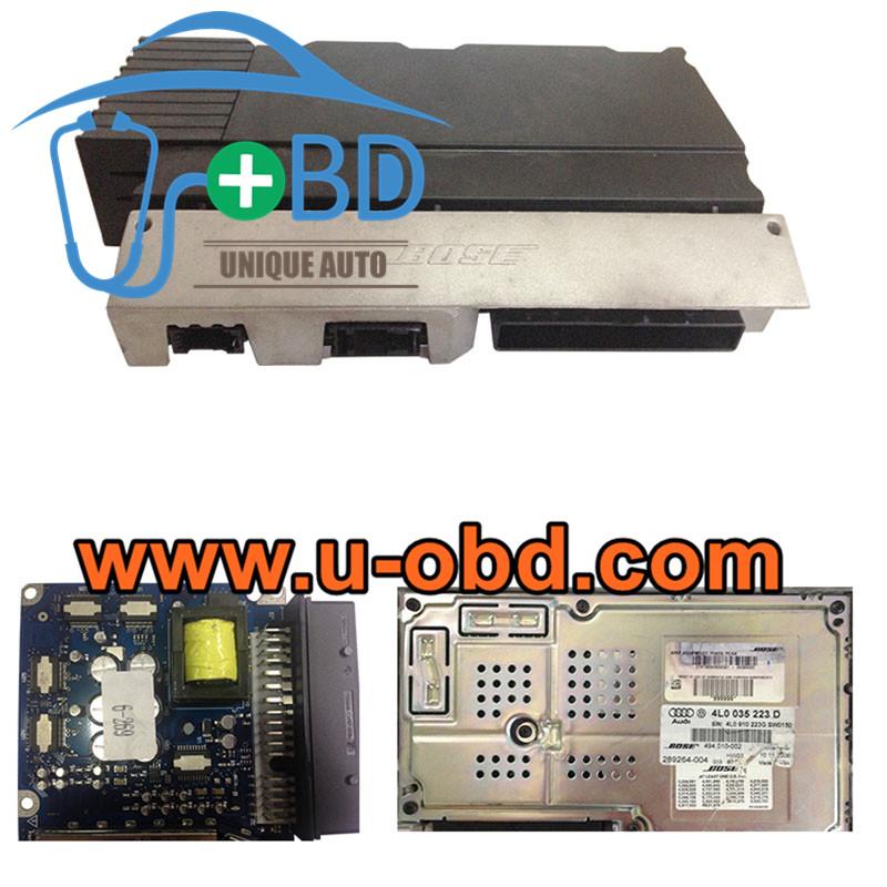 AUDI A6 Q7 BOSE Audio amplifier J525 module repairing board