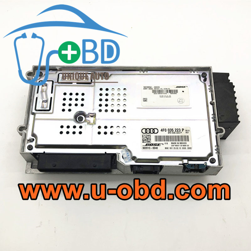 AUDI Q7 A6 J525 BOSE Audio amplifier Replacement