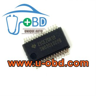 SN0301022B DELPHI ECU vulnerable fuel injection chips