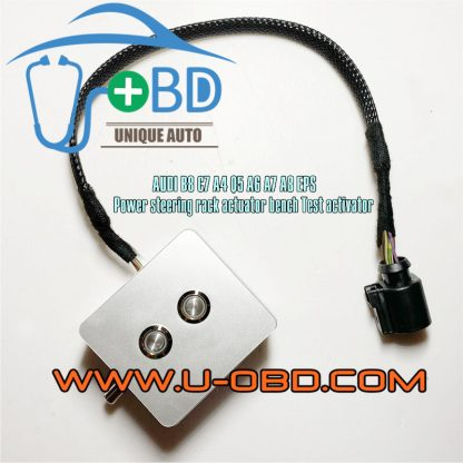 AUDI A6 A7 A8 A4 Q5 Electronic power steering rack actuator activator