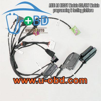 AUDI A8 D3 Key programming ELV adapting test platform