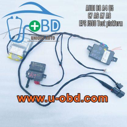 AUDI B8 A4 Q5 C7 A6 A7 A8 EPS J500 Module test platform