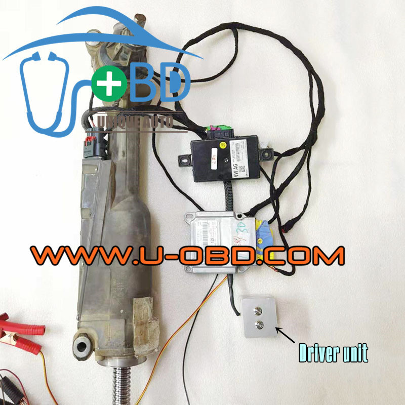 AUDI B8 A4 Q5 C7 A6 A7 A8 Power steering module actuator driver unit