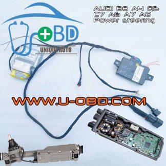 AUDI C7 B8 EPS Fault code B200049 C10AD29 C10ACF0 repair test bench