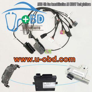 AUDI A8 4th Gen Immobilization type KESSY module ELV actuator test platform