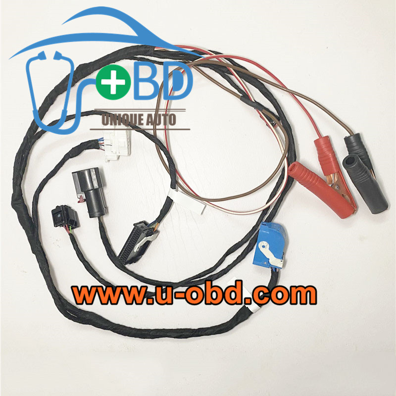 BMW F02 F18 F35 Chassis car electronic Power steering module test platform