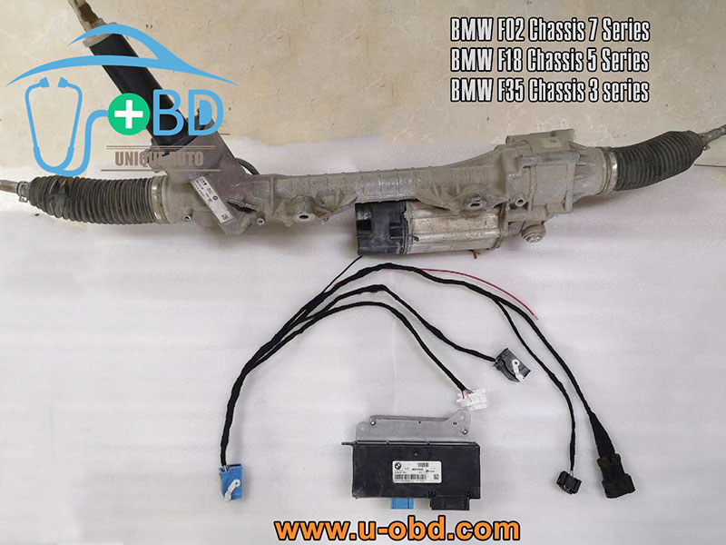 BMW F02 F18 F35 chassis EPS module Electronic power steering Test platform