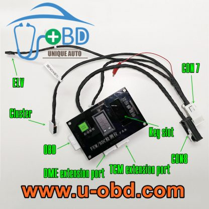BMW FEM BDC key programming harness test platform