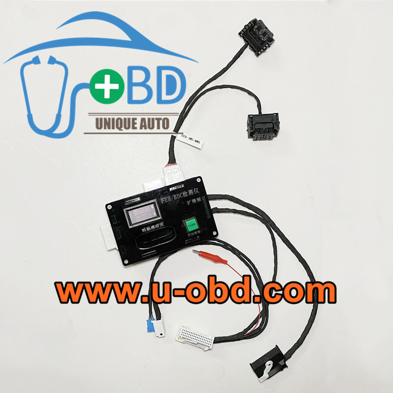 BMW FEM BDC key programming platform B48 B58 DME test platform adapter
