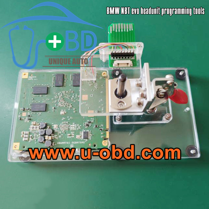 BMW NBT EVO Headunit programming tools