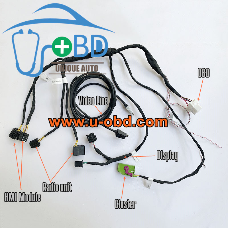 BUICK CADILLAC CHEVROLET Human machine interface module radio cluster test platform