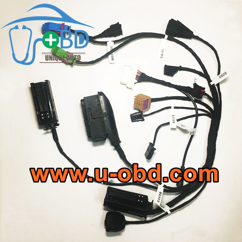 Bentley Volkswagen Touareg Phaeton ELV adaption harness test platform