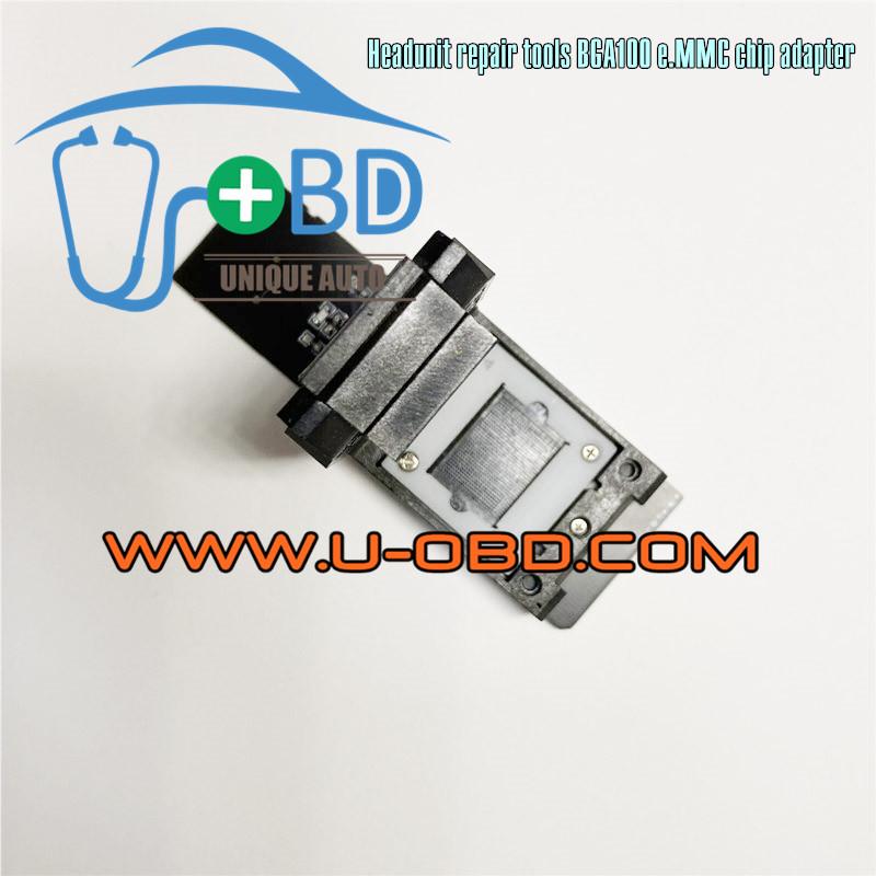 Car Headunit repair tools BGA100 LBGA100 eMMC Memory chip programming adapter