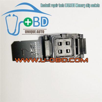 Car Headunit repair tools MultiMediaCard BGA100 eMMC Memory chip programming adapter