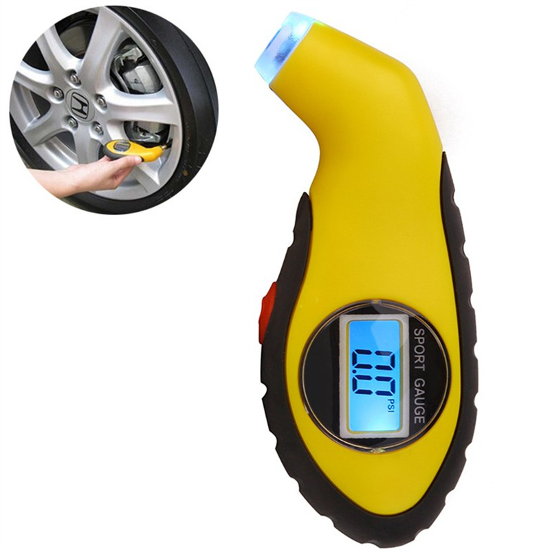 LCD Car Air Digital Tire Pressure Gauge