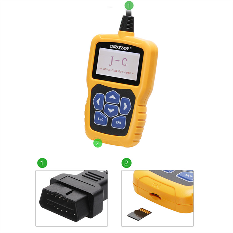 OBDSTAR J-C Calculating Pin Code Immobilizer Tool One Key Free Upgrade Online