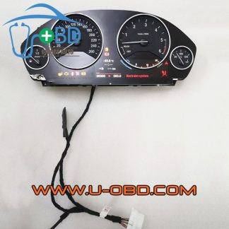 BMW F Chassis F Series Car Instrument cluster bench power on dashboard test platform