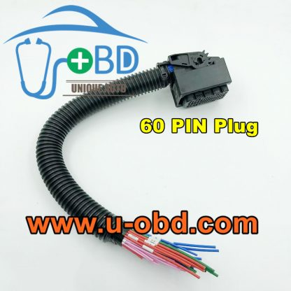 BOSCH EDC17 Connector 60 PIN plug