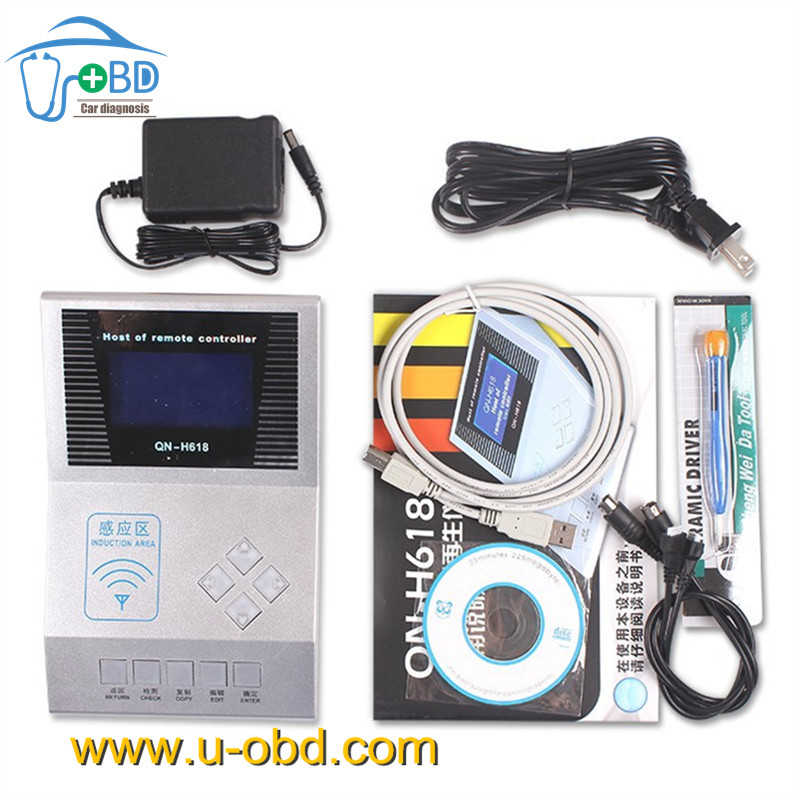 www.u-obd.com | Remote key programmer