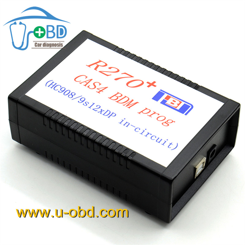 Professional R270 For BMW CAS4 BDM Auto Key Programmer V1.20 CAS4 BDM