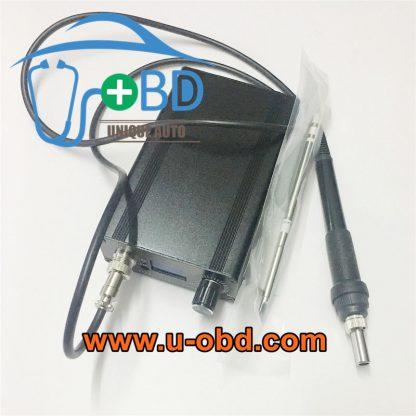 Removeable portable solder iron