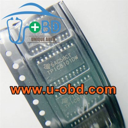 TPIC8101DW car ECM ECU commonly used vulnerable driver chips