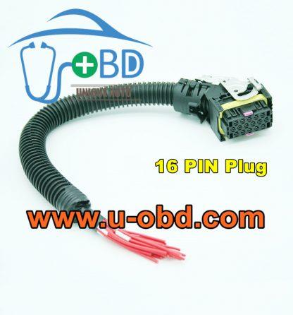 BOSCH EDC7 Connector cable 16 PIN plug