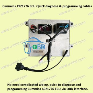 Cummins 4921776 ECU Quick diagnose and programming cables