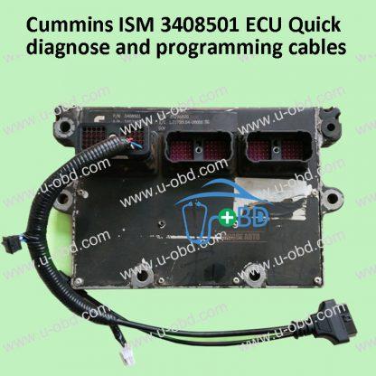 Cummins ISM 3408501 ECU Quick diagnose and programming cables
