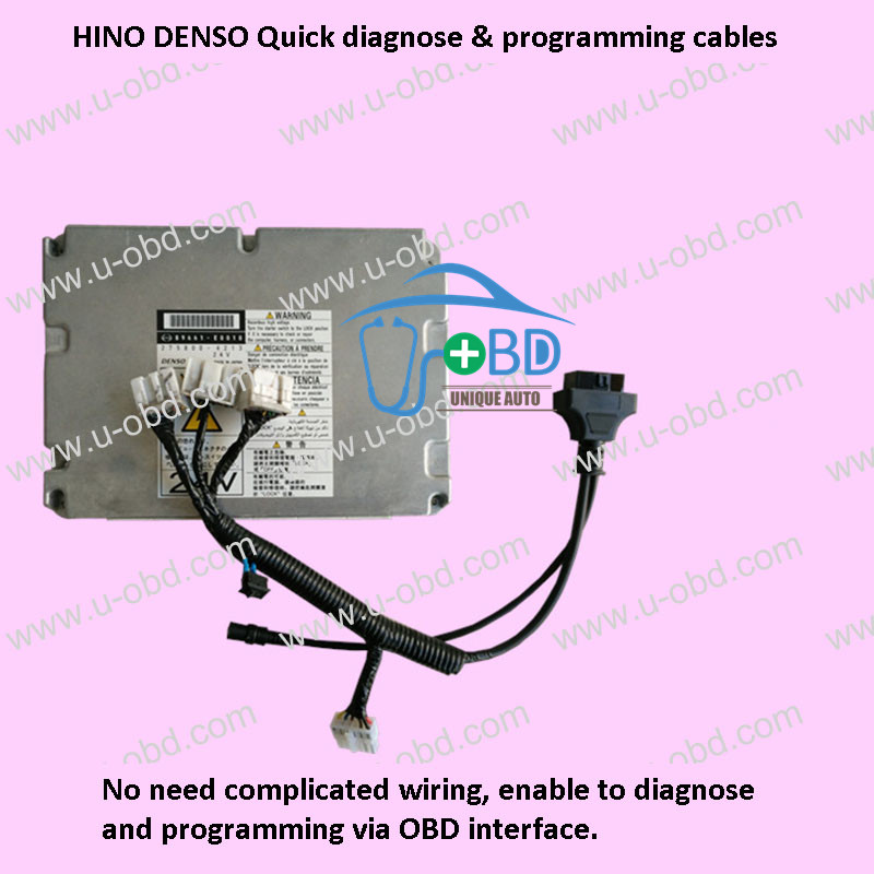 HINO DENSO Quick diagnose and programming cables