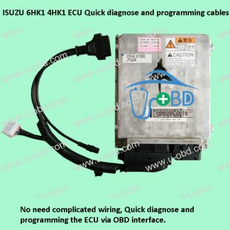ISUZU 6HK1 4HK1 ECU Quick diagnose and programming cables