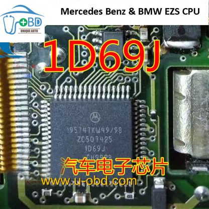 1D69J Mercedes Benz vulnerable EZS module CPU